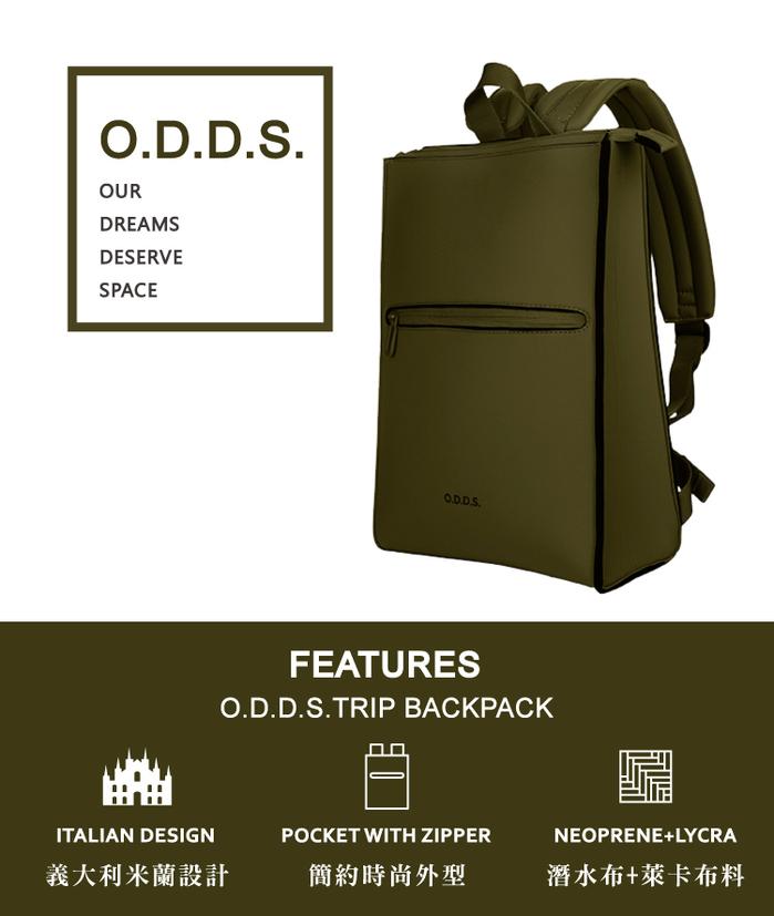 (複製)TUCANO|ODDS 潛水布防水側背包-藍色