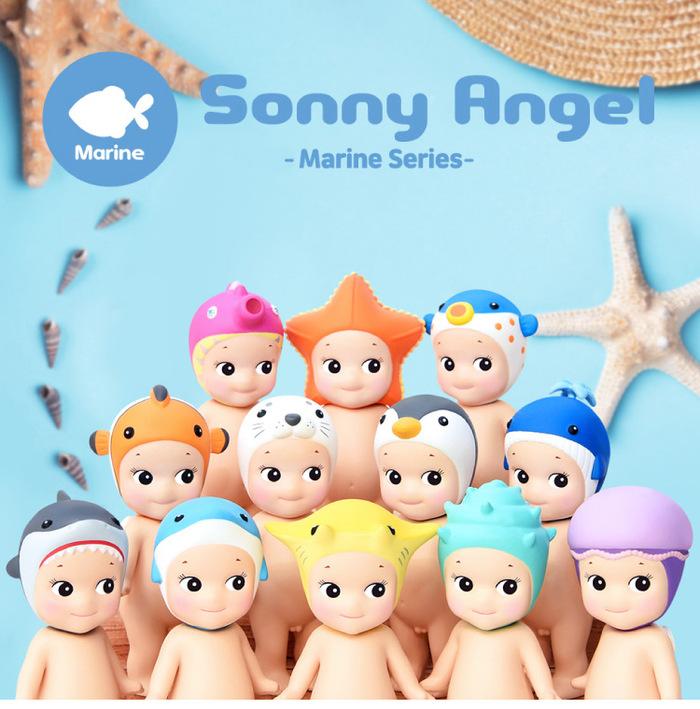 Sonny Angel|經典海洋系列 盒玩公仔 New(單入隨機款)