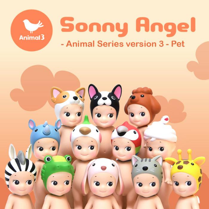 (複製)Sonny Angel|經典動物系列 Version.2 盒玩公仔 New(單入隨機款)