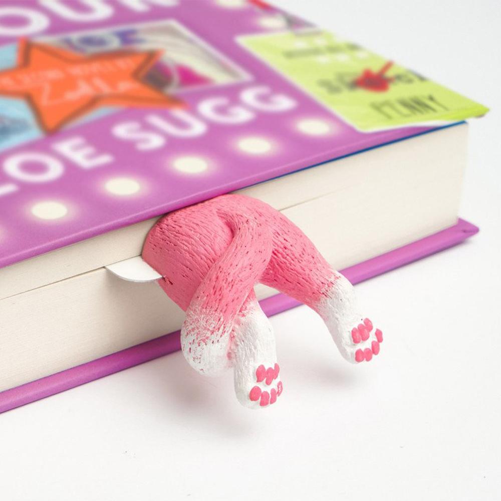 烏克蘭myBookmark|露屁屁的粉紅小貓書籤