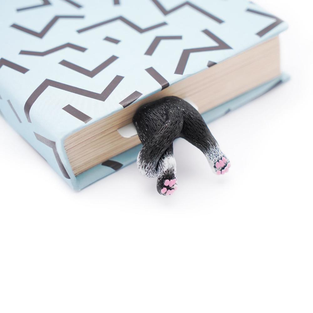 烏克蘭myBookmark|肉球腳丫小黑貓