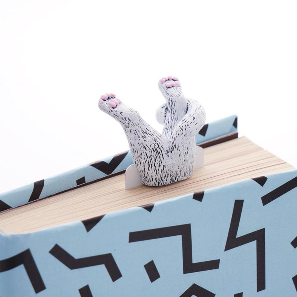 烏克蘭myBookmark|肉球腳丫小白貓