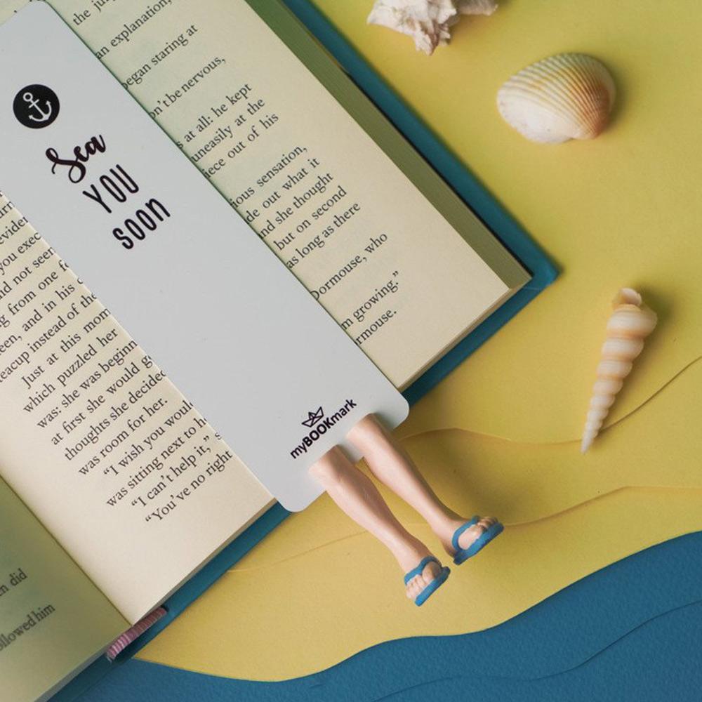 烏克蘭myBookmark|夏日海灘鞋(藍)