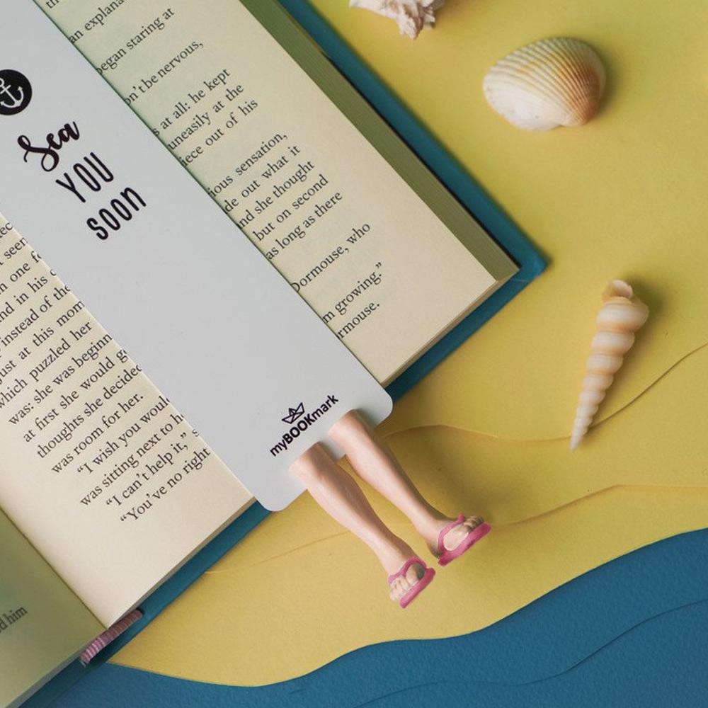 烏克蘭myBookmark 夏日海灘鞋(粉)