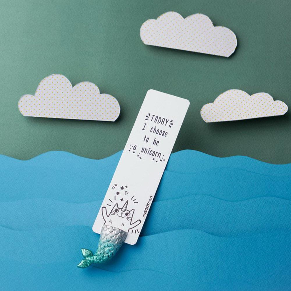 烏克蘭myBookmark|喜愛人類書籍的人魚獸書籤