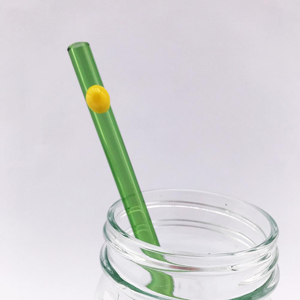 Strawesome|手工玻璃吸管標準直式-彩色管
