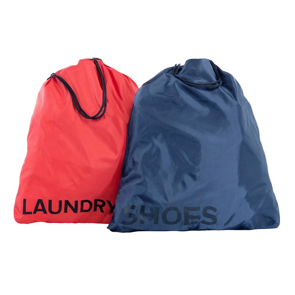 TUCANO|Adatto 旅行收納整理袋二件組(內含紅/藍各一)