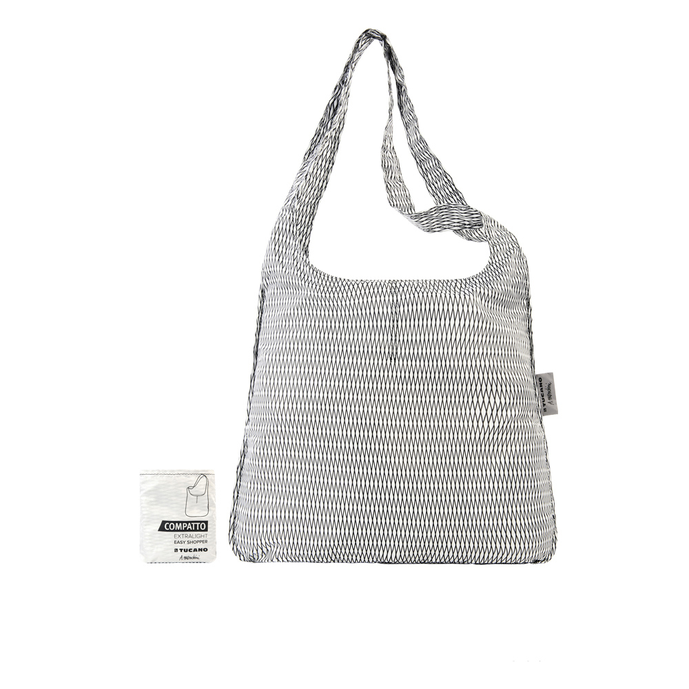 TUCANO|MENDINI 設計師系列超輕量折疊收納輕鬆購物袋