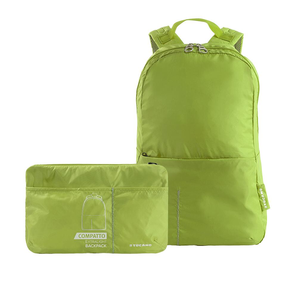TUCANO|COMPATTO 超輕量防潑水尼龍折疊收納後背包