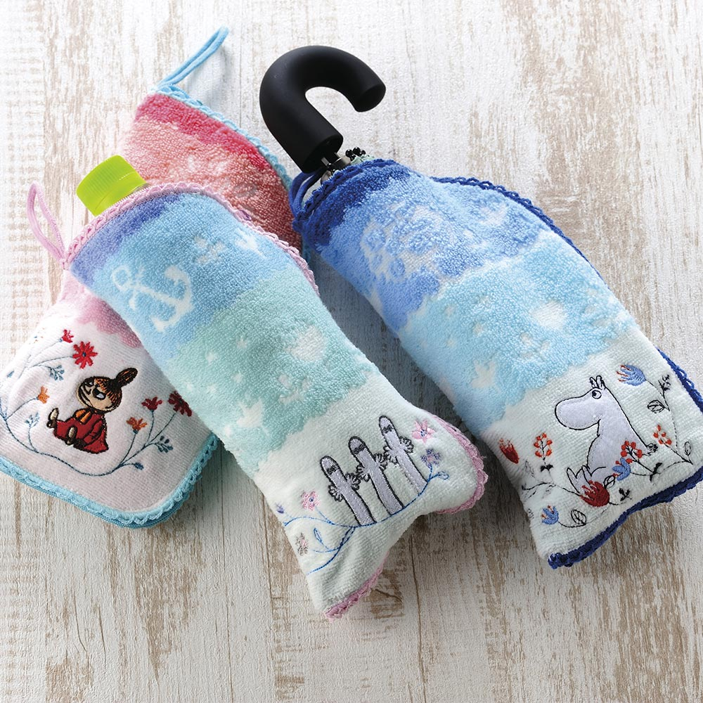 日本丸真|Moomin速吸雨傘水瓶拉鍊收納套