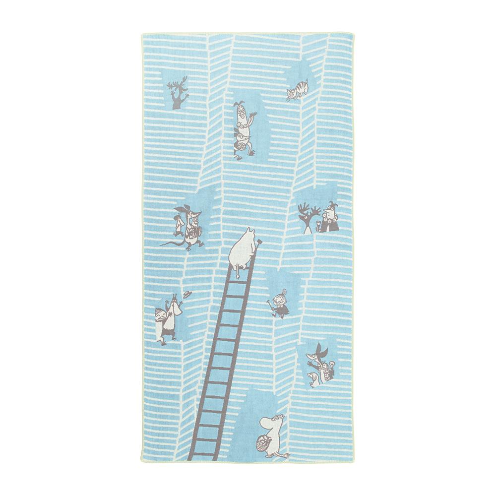日本丸真|Moomin今治三層紗臉巾-我的家