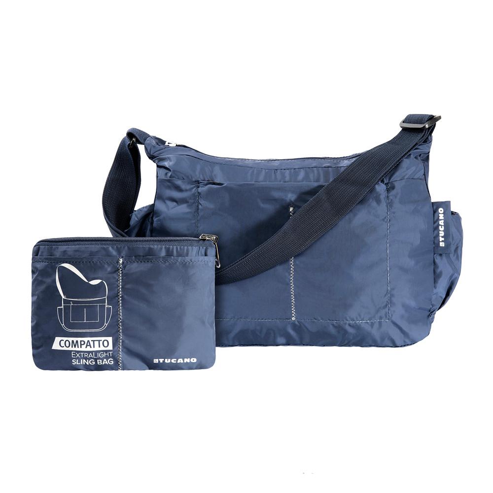 TUCANO|COMPATTO 超輕量防水尼龍折疊收納側背包