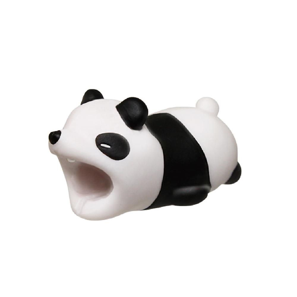 Dreams|慵懶動物園-iphone專用咬線器-被揍的熊貓