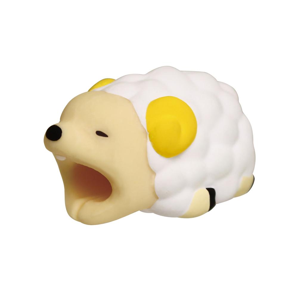 Dreams|慵懶動物園II-iphone專用咬線器-懶洋洋綿羊