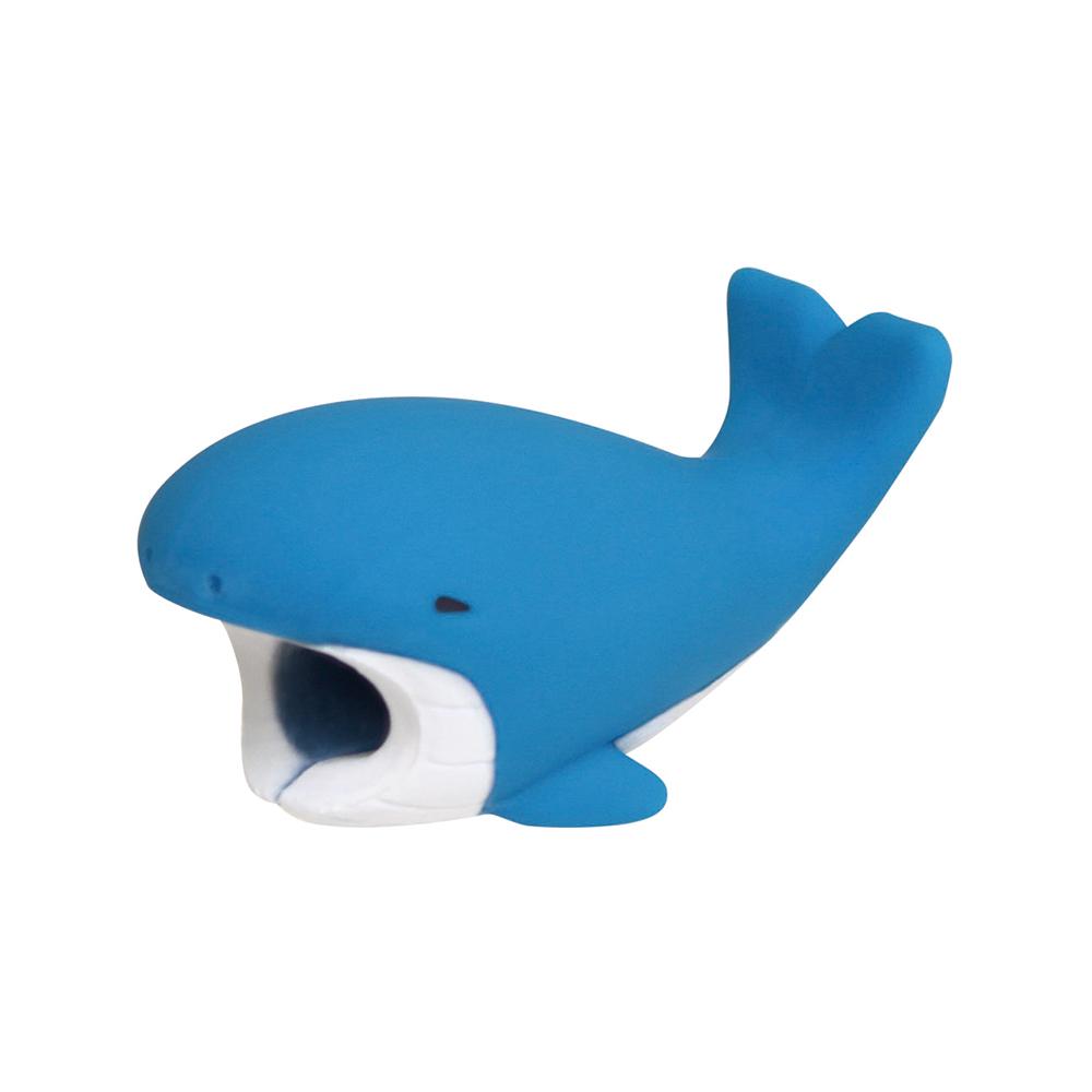 Dreams|放假海生館-iphone專用咬線器-愛噴水鯨魚