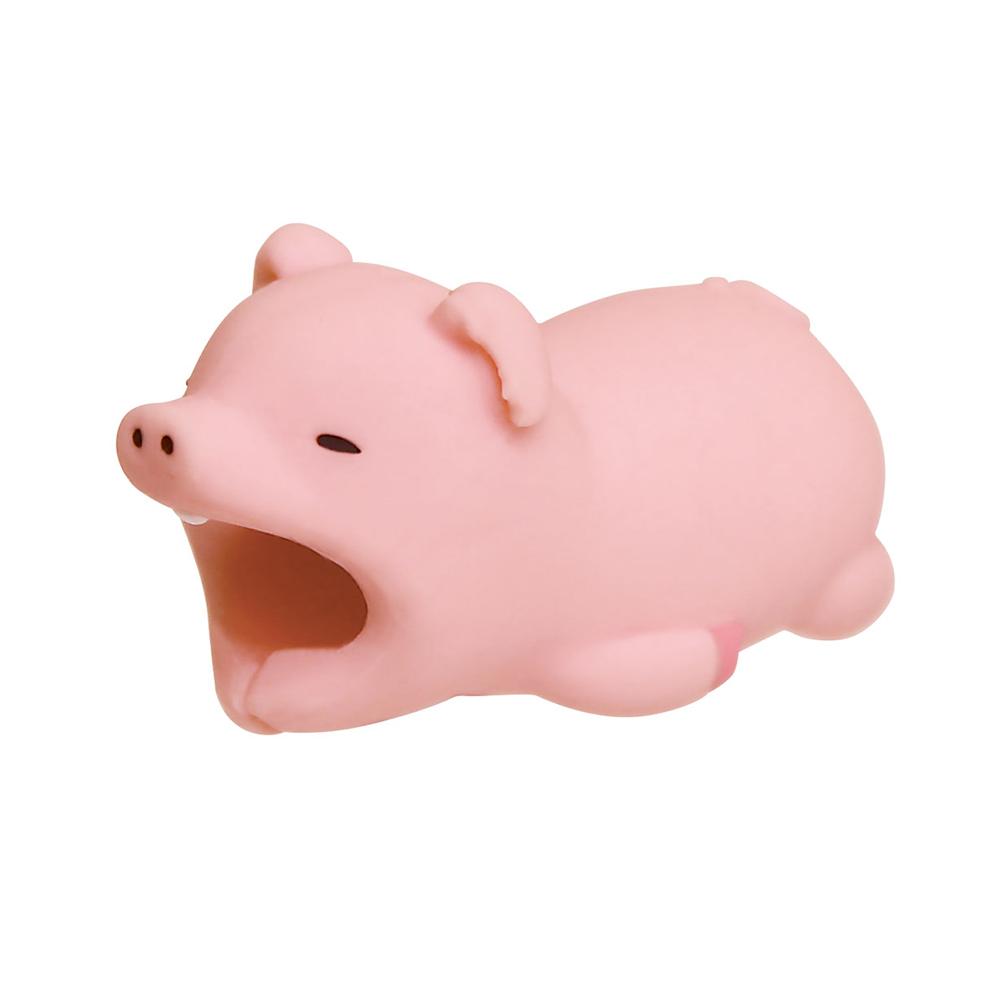 Dreams|慵懶動物園II-iphone專用咬線器-貪吃小胖豬