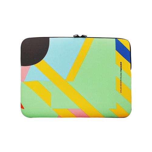 TUCANO|MENDINI 時尚設計筆電包(適用筆電12吋/MB Pro13吋)-繽紛幾何