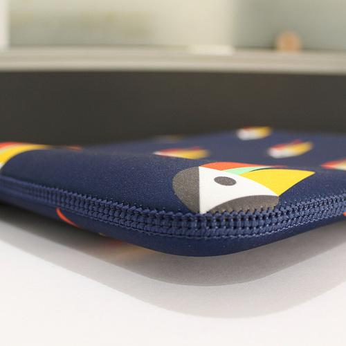 TUCANO|MENDINI 時尚設計筆電包(適用筆電12吋/MB Pro13吋)-大嘴鳥藍