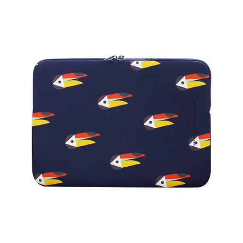 TUCANO|MENDINI 時尚設計筆電包(適用筆電14吋/MB Pro15吋)-大嘴鳥藍