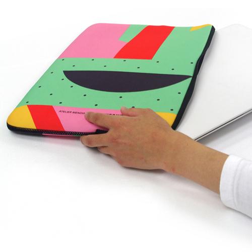 TUCANO|MENDINI 時尚設計筆電包15.6吋-繽紛幾何