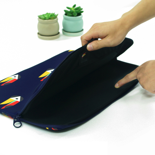 TUCANO|MENDINI 時尚設計筆電包15.6吋-大嘴鳥藍
