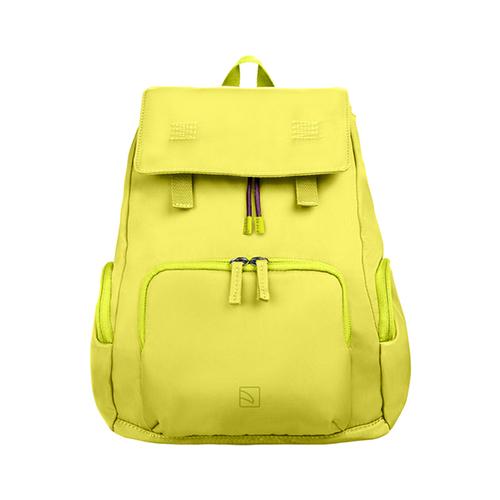 TUCANO|超輕量防潑水撞色系休閒後背包-黃色