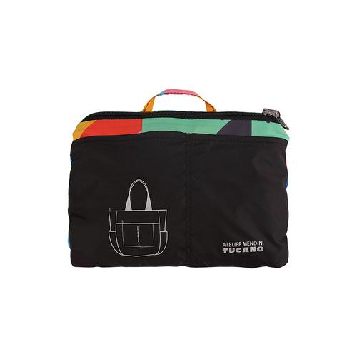 TUCANO|MENDINI 超輕量折疊收納購物包-繽紛幾何