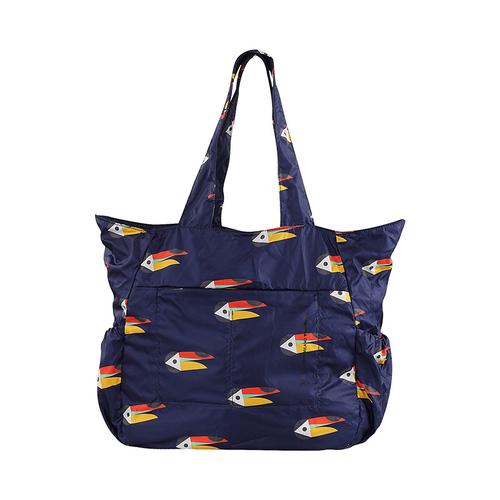 TUCANO|MENDINI 超輕量折疊收納購物包-大嘴鳥藍