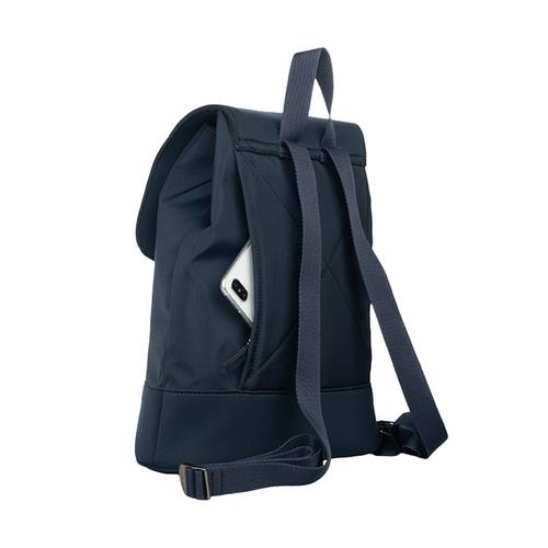 TUCANO|超輕量防潑水撞色款簡約後背包-藍色