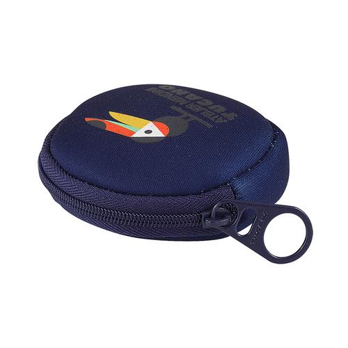 TUCANO|MENDINI圓形零錢包-大嘴鳥藍