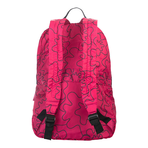 TUCANO|COMPATTO X MENDINI 超輕量防水尼龍折疊收納後背包-粉色