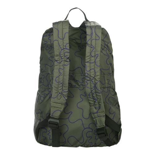 TUCANO|COMPATTO X MENDINI 超輕量防水尼龍折疊收納後背包-墨綠