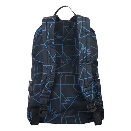 TUCANO|COMPATTO X MENDINI 超輕量防水尼龍折疊收納後背包-黑色