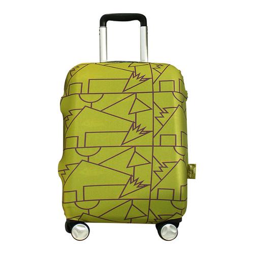 TUCANO|MENDINI 高彈性防塵行李箱保護套S-草綠