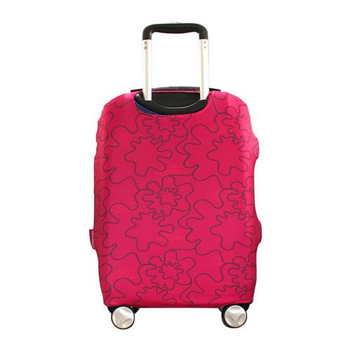 TUCANO|MENDINI 高彈性防塵行李箱保護套L-粉色