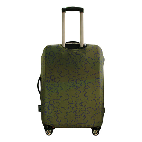 TUCANO|MENDINI 高彈性防塵行李箱保護套L-墨綠