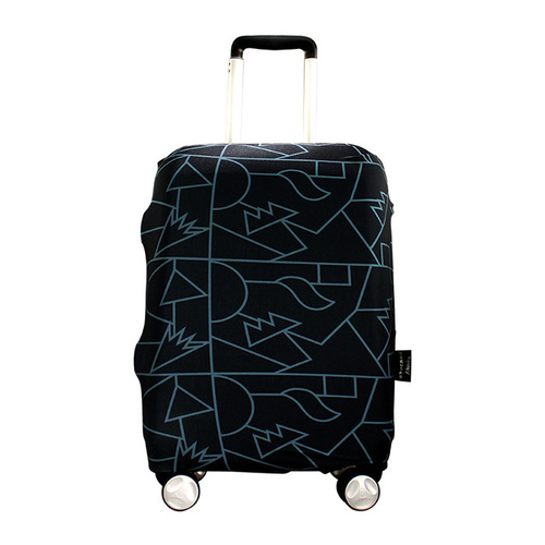 TUCANO|MENDINI 高彈性防塵行李箱保護套L-黑色