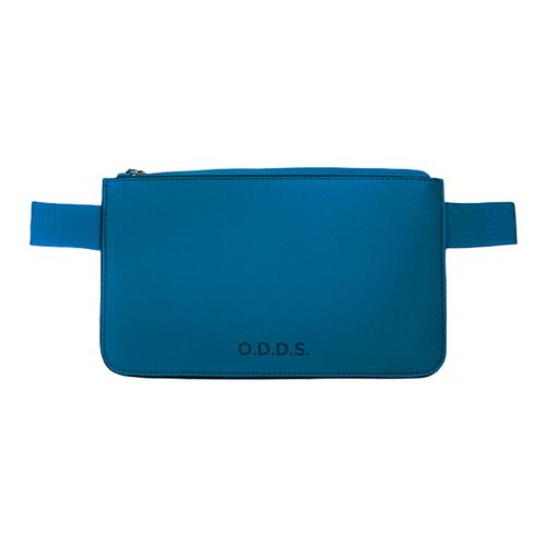 TUCANO|ODDS 潛水布防水防盜拉鍊式腰包-藍色