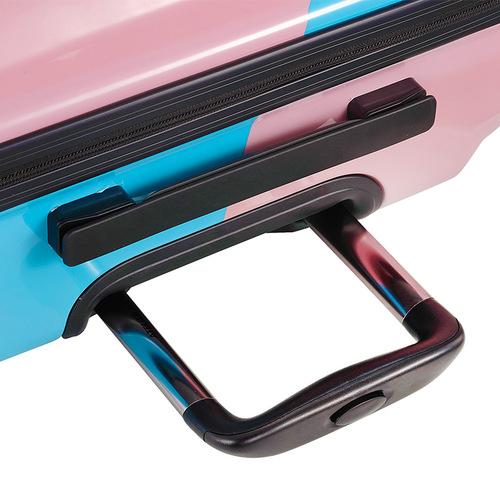 TUCANO|MENDINI 20吋拉鍊式硬殼登機行李箱-繽紛粉彩