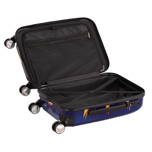 TUCANO|MENDINI 24吋拉鍊式硬殼登機行李箱-大嘴鳥藍