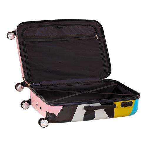 TUCANO|MENDINI 24吋拉鍊式硬殼登機行李箱-繽紛粉彩