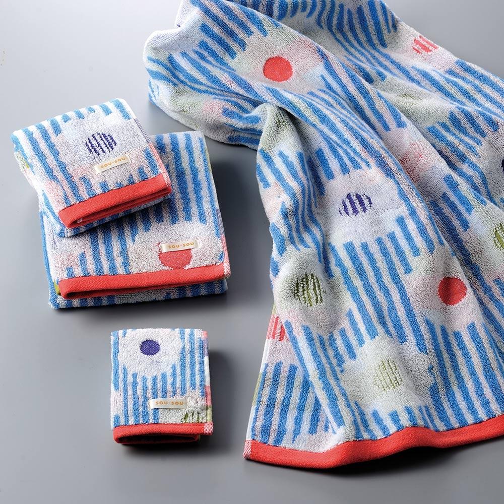 日本丸真|SOU SOU 京都新和風今治洗臉巾-卡倫