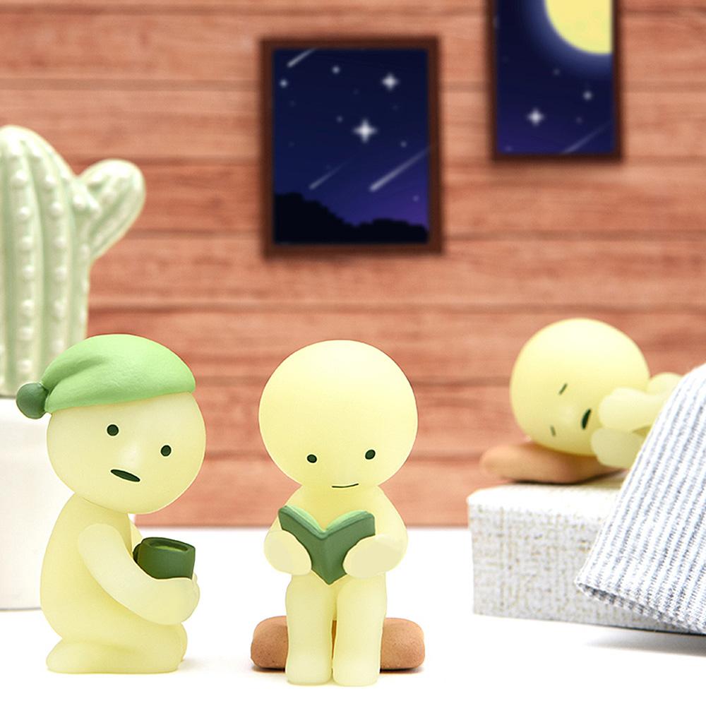 Smiski|不可思議的夜光精靈-房間遊樂園(箱購12入)