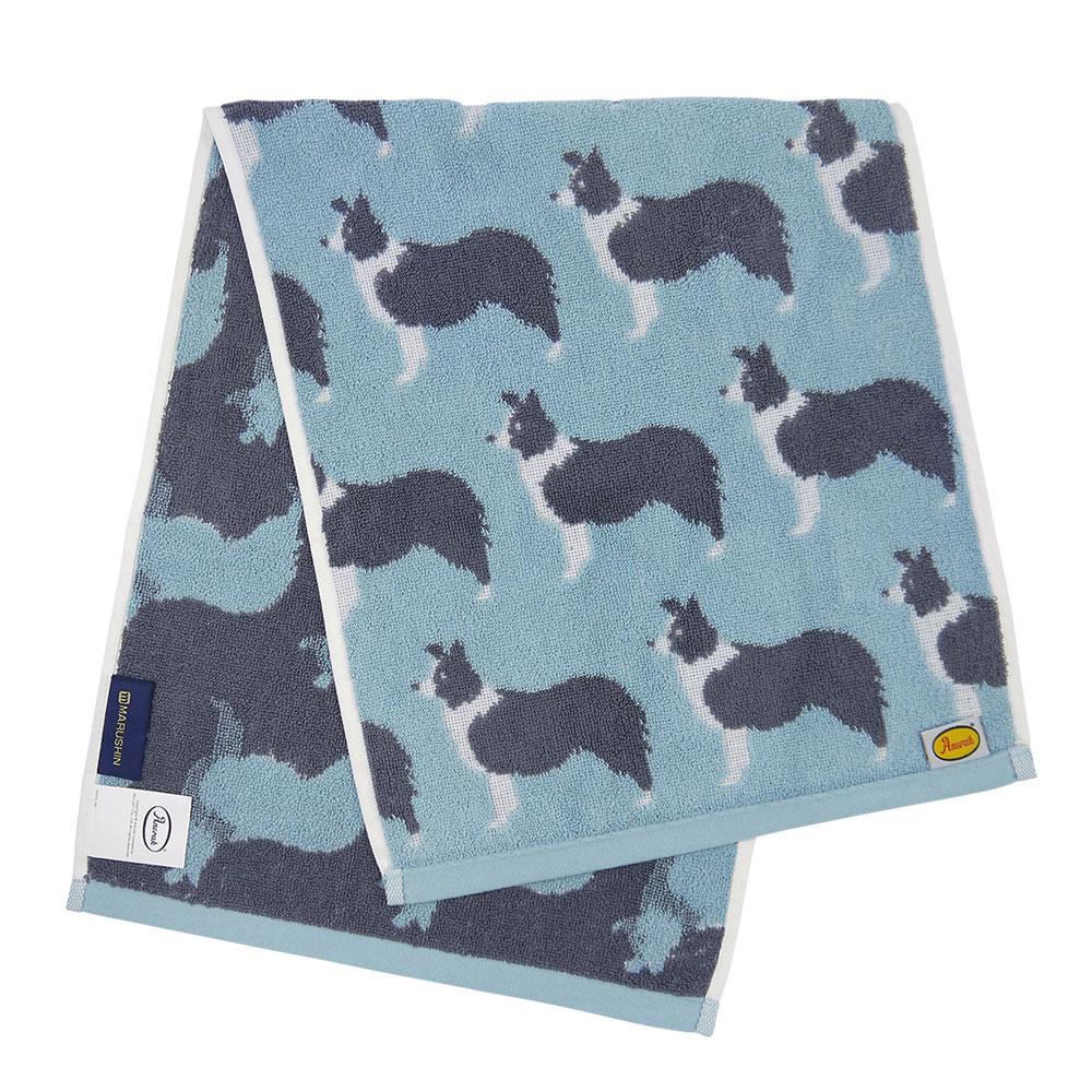 日本丸真|Anorak英倫設計款毛巾-牧羊犬