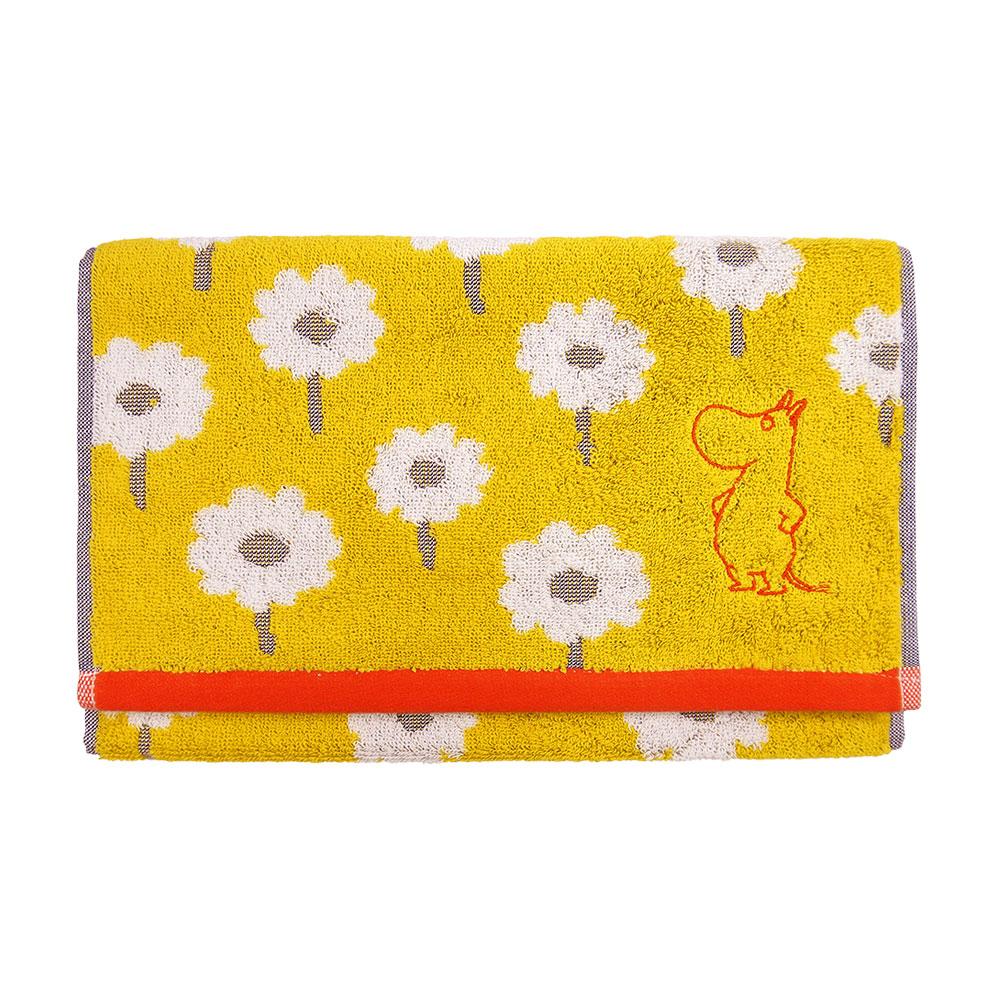 日本丸真|Moomin毛巾-嚕嚕米看花