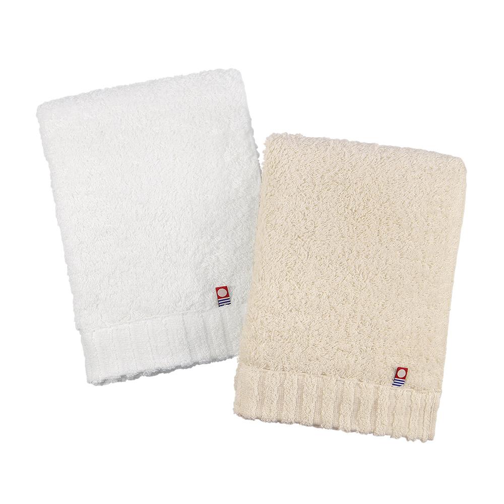 日本丸真|頂級今治極輕量中空棉浴巾-米