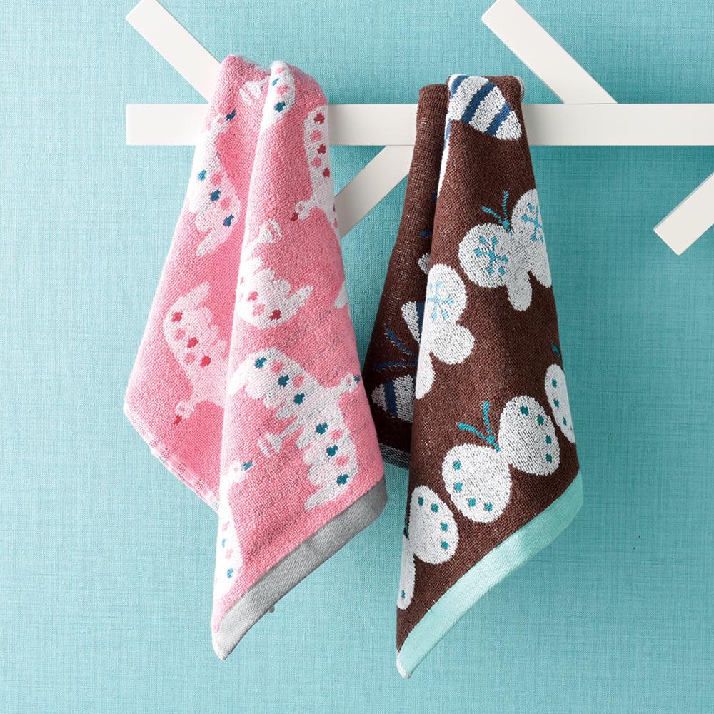 日本丸真|葡萄牙製創意廚房洗臉巾-蝴蝶