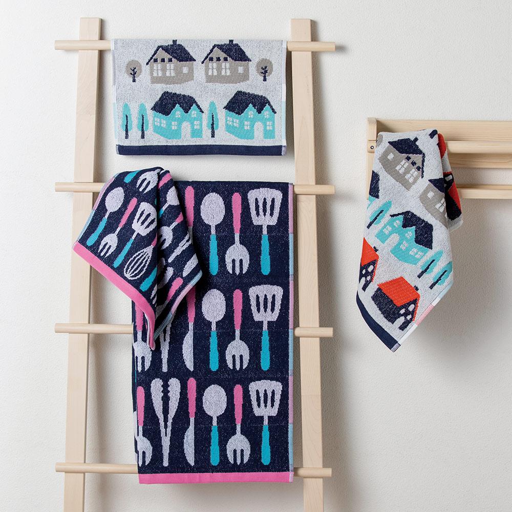 日本丸真|葡萄牙製創意北歐洗臉巾-蝴蝶