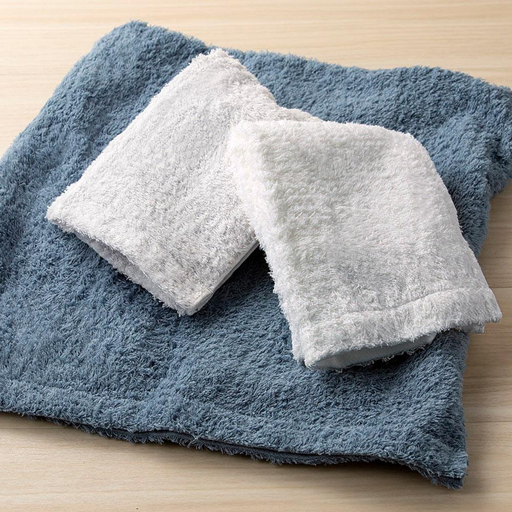 日本丸真|頂級今治極輕量長棉毛巾-灰