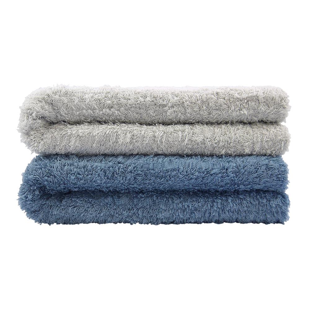 日本丸真|頂級今治極輕量長棉浴巾-灰